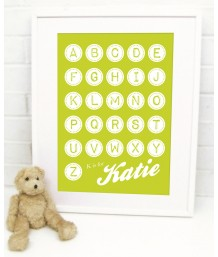 Circle Alphabet Personalised