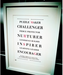 Teachers Prints - Personalised
