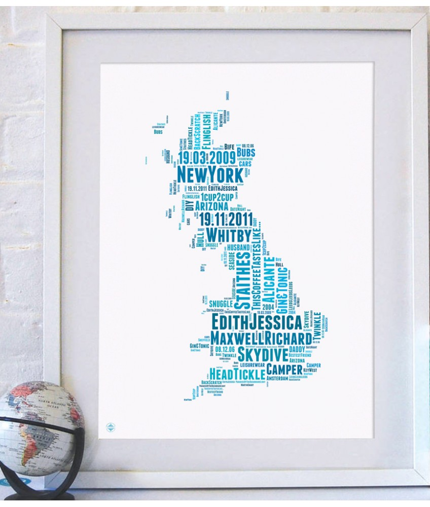 Personalised uk map gumiabroncs Gallery