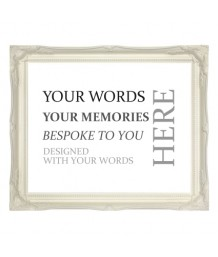 A Personalised Typographic Art Print(Create Your Own)