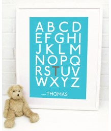 Alphabet Personalised - Boys