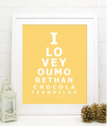 EyeTest Print | Personalised