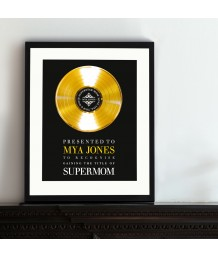 Personalised Gold Disc!