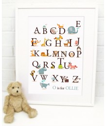 Animal Alphabet - Personalised