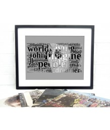 Lennon Typographic Art